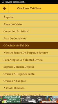 Oraciones Católicas En Español screenshot 3