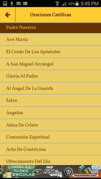 Oraciones Católicas En Español screenshot 2