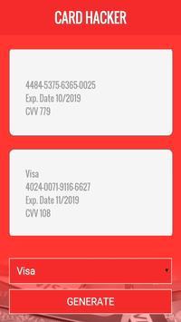 CardHack Credit Card Generator screenshot 2
