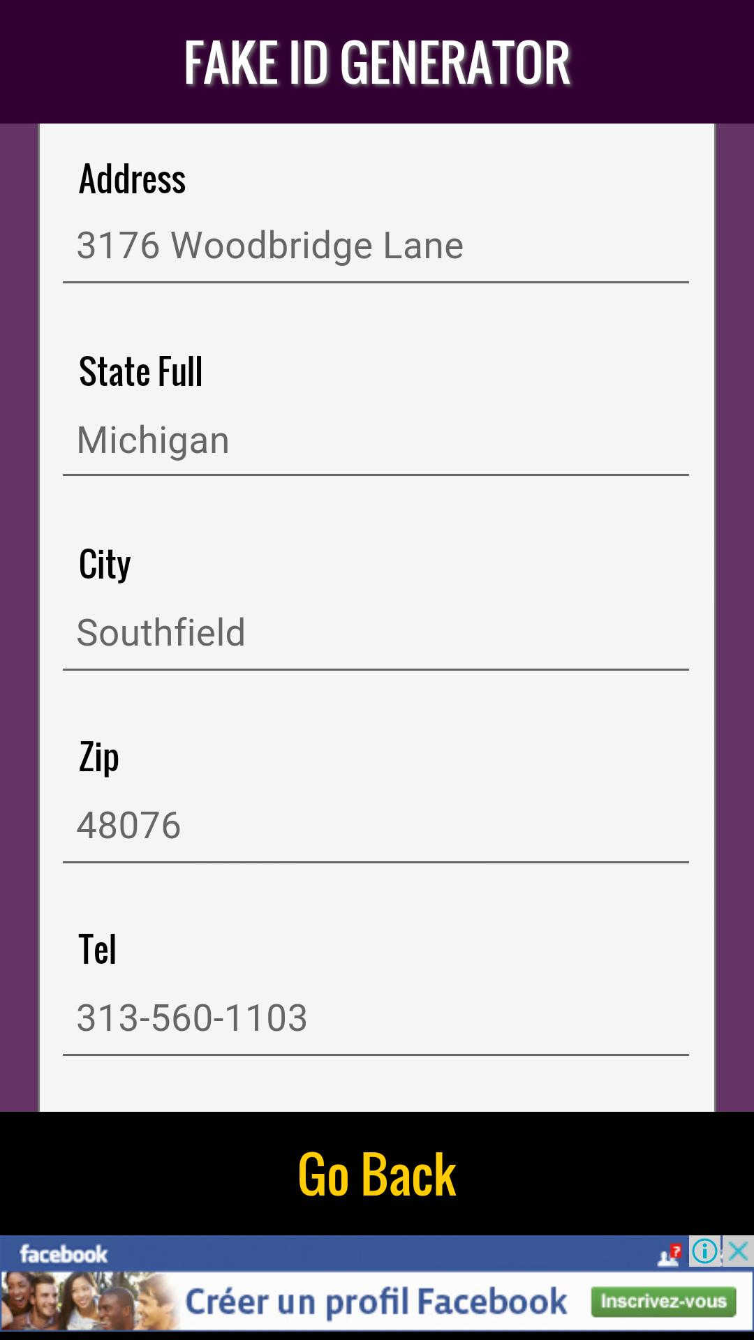 Fake ID Generator & ID Maker for Android - APK Download