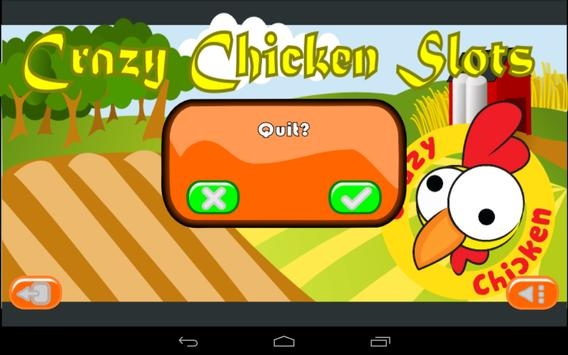 Crazy Chicken Slots apk screenshot