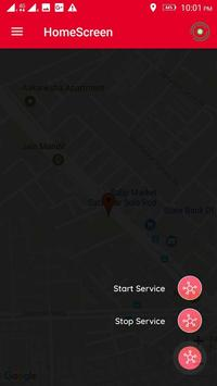 TrackSend - Send Your Location Timely apk screenshot
