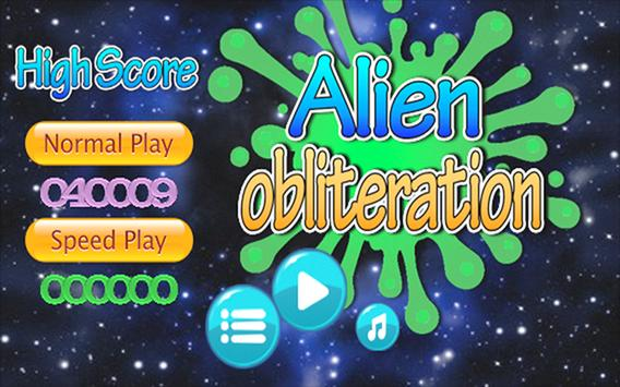 Alien Obliteration apk screenshot