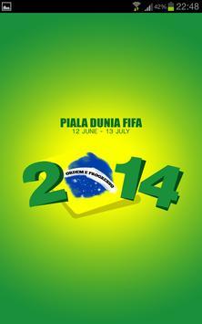 Piala Dunia 2014 poster