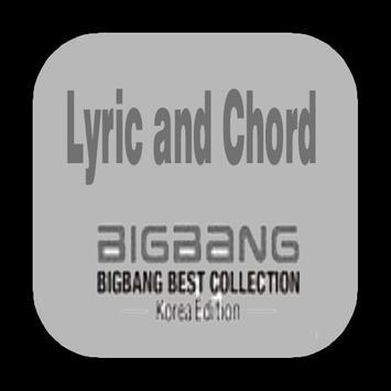 Lyric and Chord Korean Song Big Bang screenshot 1