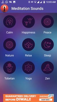 Meditation Sounds screenshot 1
