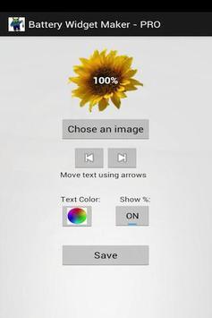 Battery Status Maker FREE apk screenshot