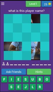 Players MANCITY FC Quiz Game poster