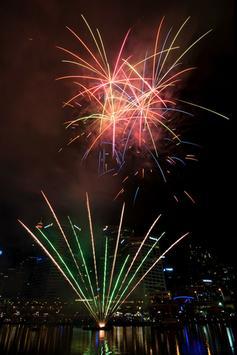 Fireworks LWP apk screenshot