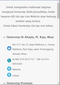 Muar Homestay apk screenshot