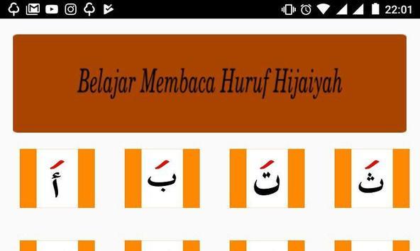 Belajar Membaca Huruf Hijaiyah apk screenshot