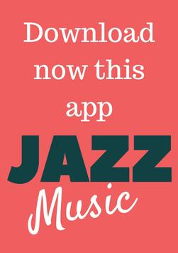 Jazz Music Radio Online App poster