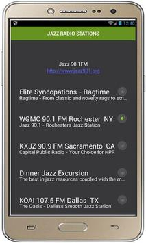 JAZZ RADIO STATIONS poster