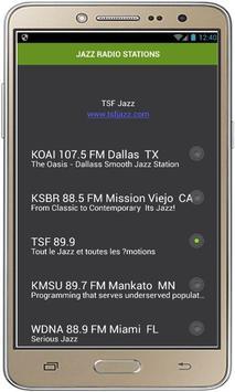 JAZZ RADIO STATIONS screenshot 1