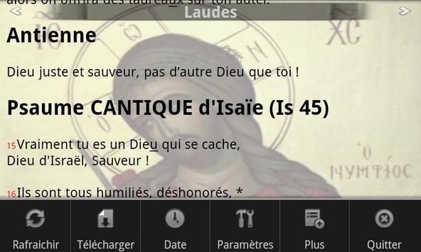 Bréviaire apk screenshot