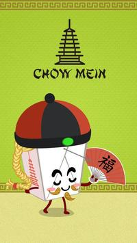 GO Keyboard Chow Mein Sticker poster