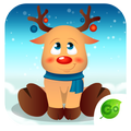 GO Keyboard Christmas Sticker