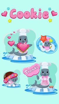 Emoji Cookie Stickers apk screenshot