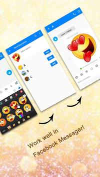 GO Keyboard Sticker Emoticon screenshot 2