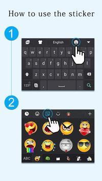 GO Keyboard Sticker Emoticon screenshot 7