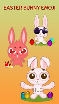 GO Keyboard Sticker Easter Bunny poster