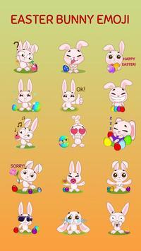 GO Keyboard Sticker Easter Bunny apk screenshot