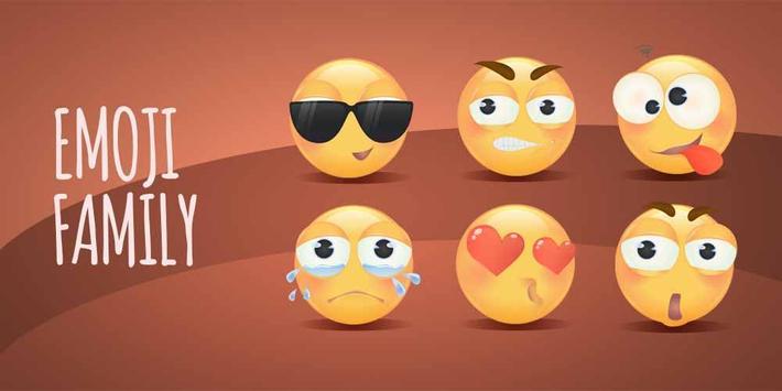 go keyboard sticker emoji family apk download free personalization
