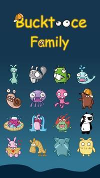 GO Keyboard Family Sticker apk screenshot