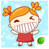 GO Keyboard Nina Sticker icon