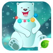 GOKeyboard Polar Teddy Sticker icon