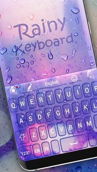 Water rain keyboard screenshot 1