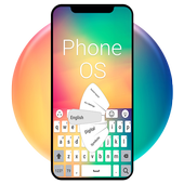 New phone OS 2018 keyboard icon