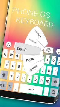 New phone OS 2018 keyboard poster