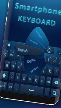 Smartphone keyboard poster