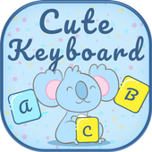 Cute keyboard theme icon