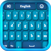 Blue Keyboard for Smartphone icon