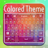 Colored Theme Keyboard icon