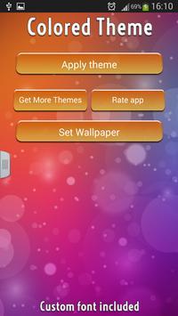 Colored Theme Keyboard apk screenshot