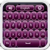Dark Plum Keyboard icon