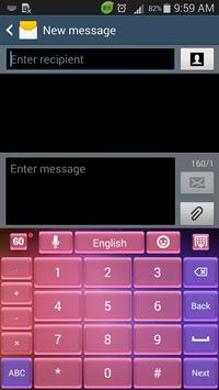Keyboard for Galaxy S5 apk screenshot