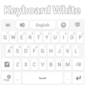 Keyboard White icon