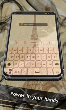 Paris theme apk screenshot