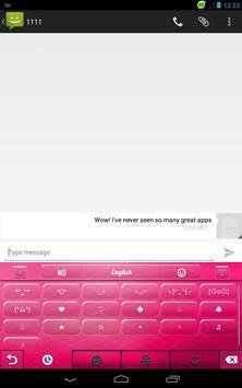 Pink Candy Keyboard apk screenshot