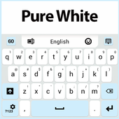 Pure White Keyboard icon