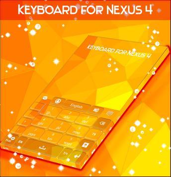 Keyboard for Nexus 4 screenshot 4