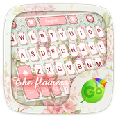 The Flowers GO Keyboard Theme icon