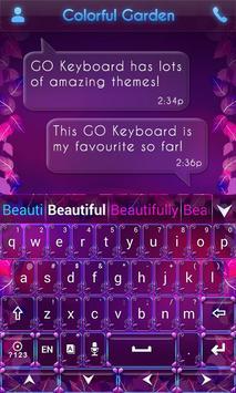 Colorful Garden Go Keyboard screenshot 4