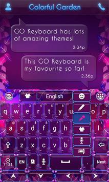 Colorful Garden Go Keyboard screenshot 5
