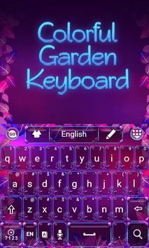 Colorful Garden Go Keyboard screenshot 1