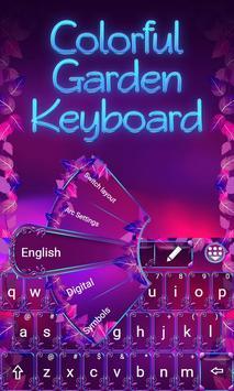 Colorful Garden Go Keyboard screenshot 2